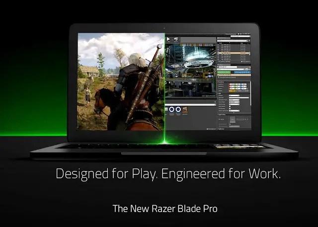 Razer Unveils the New Razer Blade Pro Gaming Notebook - Portable Powerhouse With Gaming Desktop Performance 3