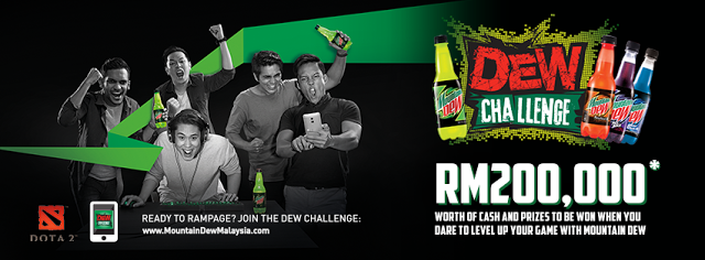 The Dew Challenge 2016 Takes the DoTA 2 and Mobile Gaming Challenge Enthusiasts in Kuala Lumpur 1