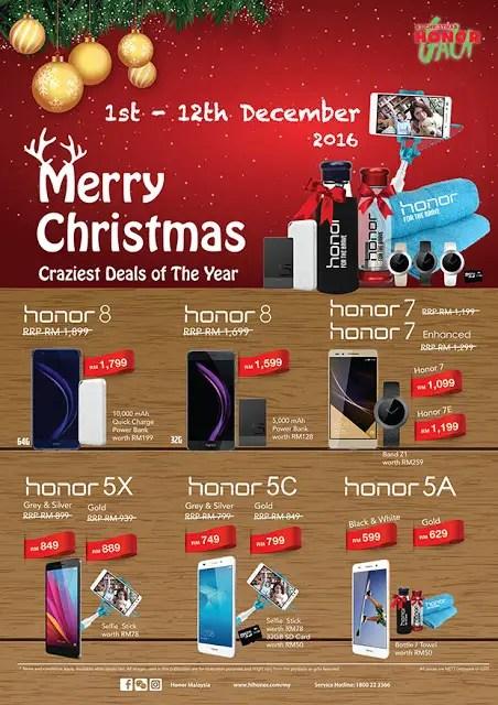 Honor Gala Christmas Promotion 2016 12