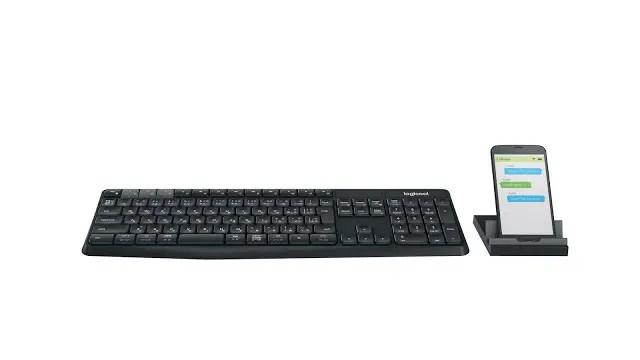 Logitech Introduces K375s Multi-Device Wireless Keyboard & Stand Combo 5
