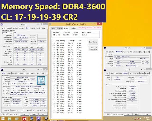 G.SKILL Announces  the Fastest Trident Z DDR4 64GB(4x16GB) kit at 3600MHz 3