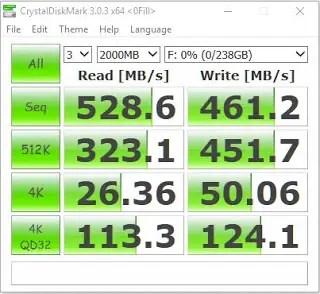 Plextor S1G 256GB M.2 SSD Review 9