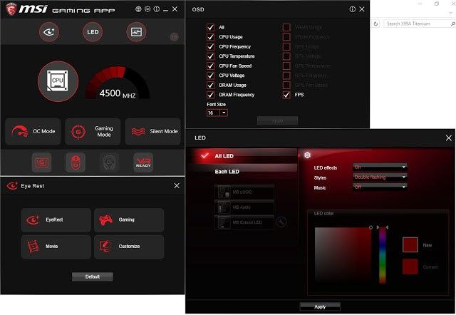 MSI Z170A XPower Gaming Titanium Edition Overview 81