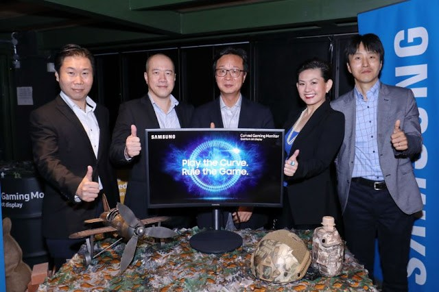 Samsung Announces Its First Quantum Dot Curved Gaming Monitor In Malaysia 3