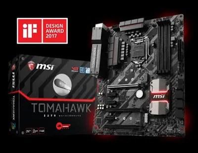MSI Trident 3 Gaming Desktop and Z270 Tomahawk Gaming Motherboard Receives iF Design Award 2017 12
