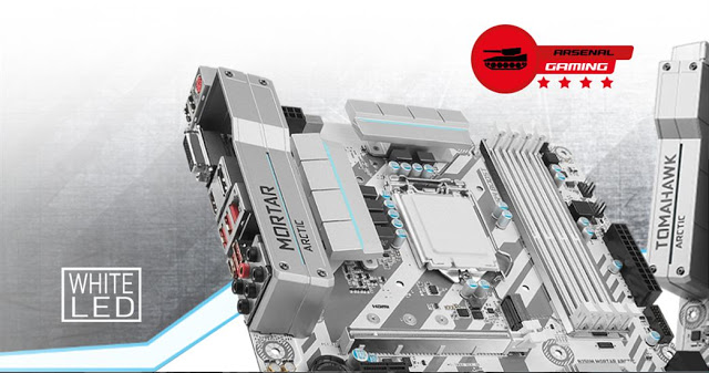 MSI Announces 4 New Arctic Gaming Motherboards - Z270/H270 Tomahawk and H270M/B250M Mortar Arctic 15