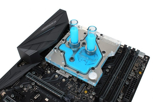 EK releases monoblock for ASUS® ROG Maximus IX Hero motherboard 5