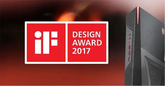 MSI Trident 3 Gaming Desktop and Z270 Tomahawk Gaming Motherboard Receives iF Design Award 2017 11