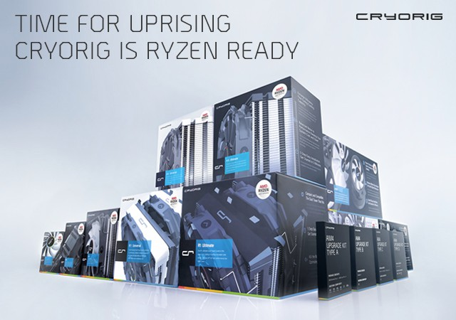 CRYORIG Announces Its Full AM4 Line Up and Offers Free Upgrade Kit To Existing Users 7
