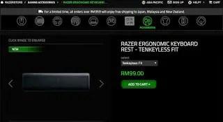 Razer Introduces Ergonomic Keyboard Rest For Gamers 21
