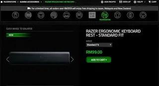 Razer Introduces Ergonomic Keyboard Rest For Gamers 20