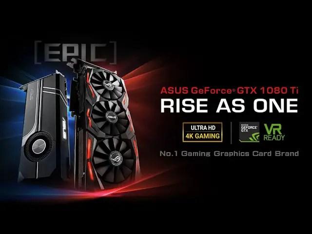 ASUS Announces ROG Strix GeForce GTX 1080 Ti and Turbo GeForce GTX 1080 Ti 5