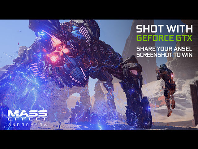 NVIDIA Announced Mass Effect: Andromeda Ansel Contest, Prizes Includes Custom Modded PC and GeForce GTX 1080 Ti 1