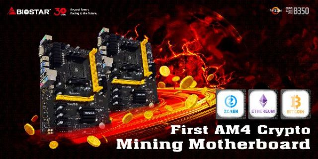 BIOSTAR Announces AMD AM4 Motherboard For Crypto Currency Mining 9