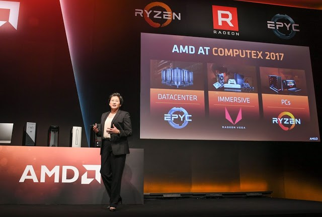Computex 2017: AMD Demonstrates the Ryzen Threadripper & Radeon Vega 13