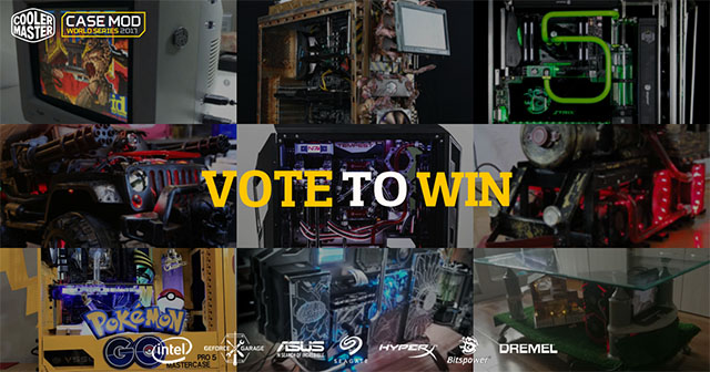 Cooler Master Case Mod World Series 2017 - Over 100 New Mods Revealed and Voting for the Best Case Mod Starts Now! 9