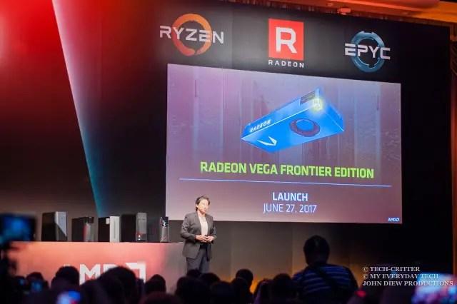 Computex 2017: AMD Demonstrates the Ryzen Threadripper & Radeon Vega 18