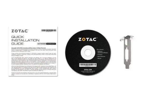 ZOTAC Released Its GeForce GT 1030 3