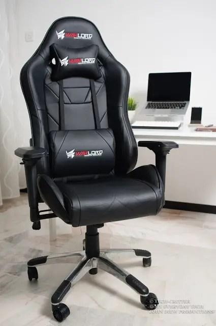 Warlord Phantom Gaming Chair Review 5