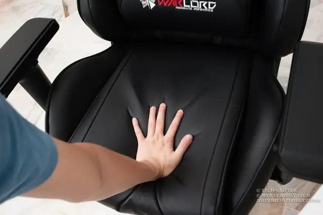 Warlord Phantom Gaming Chair Review 11