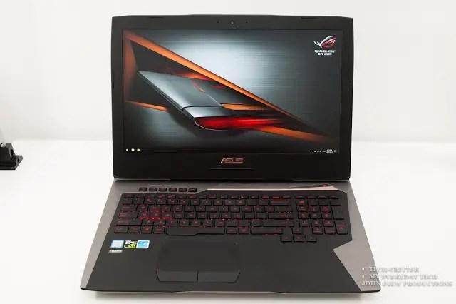 ASUS ROG G752VS Gaming Notebook Review 75