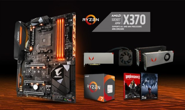 GIGABYTE's AX370-Gaming K7 motherboards featured with the Radeon RX Vega64 Bundle 1