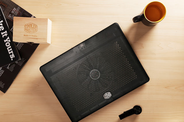 Cooler Master's No-Frills and Lightweight Notepal L2 Notebook Cooler Now Available At RM79 2