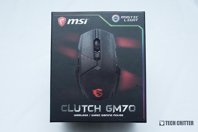 MSI Clutch GM70 Gaming Mouse Review 1