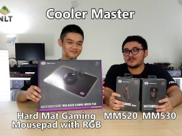 Cooler Master MM520; MM530; Hard Mat Gaming Mousepad with RGB header