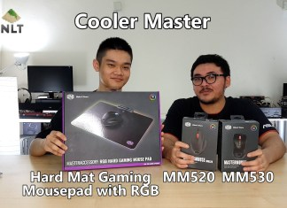 Cooler Master MM520; MM530; Hard Mat Gaming Mousepad with RGB header