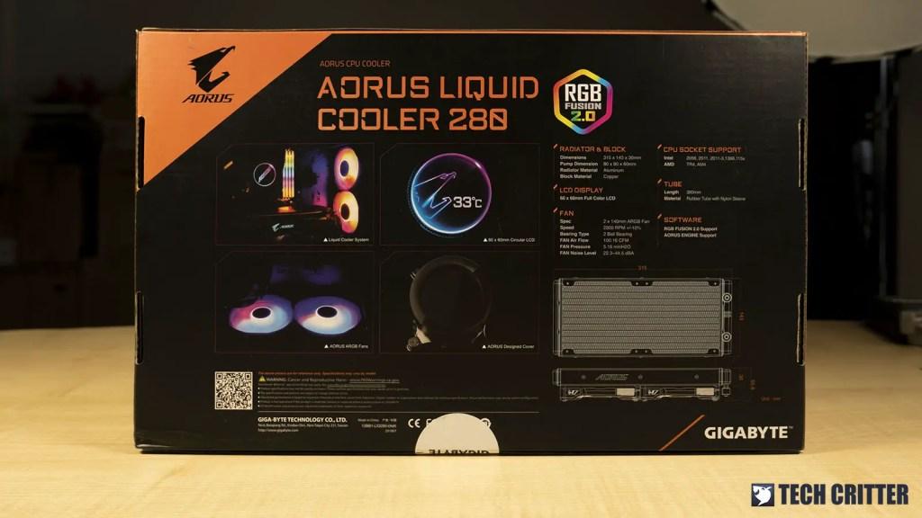 AORUS Liquid Cooler 280_2