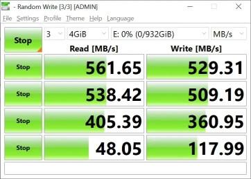 CrystalDiskMark Samsung 860 EVO 4GB (1)