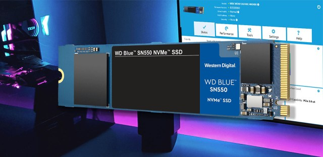 Western Digital WD Blue SN550 NVMe SSD Featured