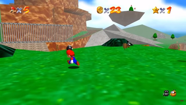 Super Mario 64 PC port has been released