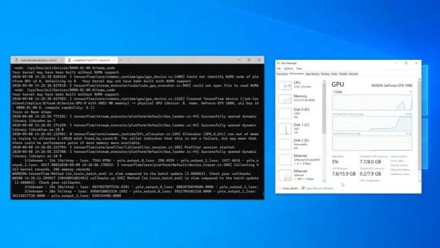 AMD GPU Accelerated Machine Learning on Windows 10