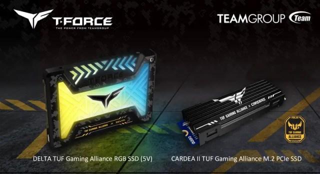 T FORCE CARDEA II TUF DELTA TUF SSD Featured