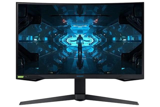 Samsung Odyssey G7 render