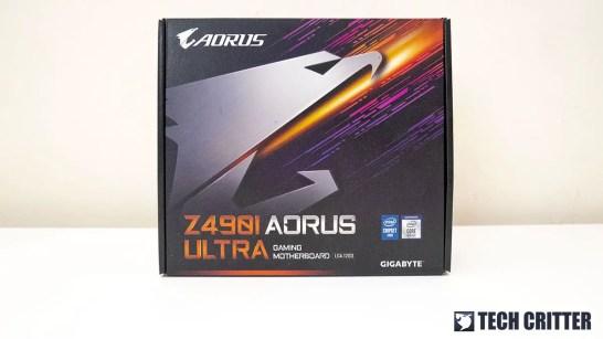 Gigabyte Z490i AORUS Ultra