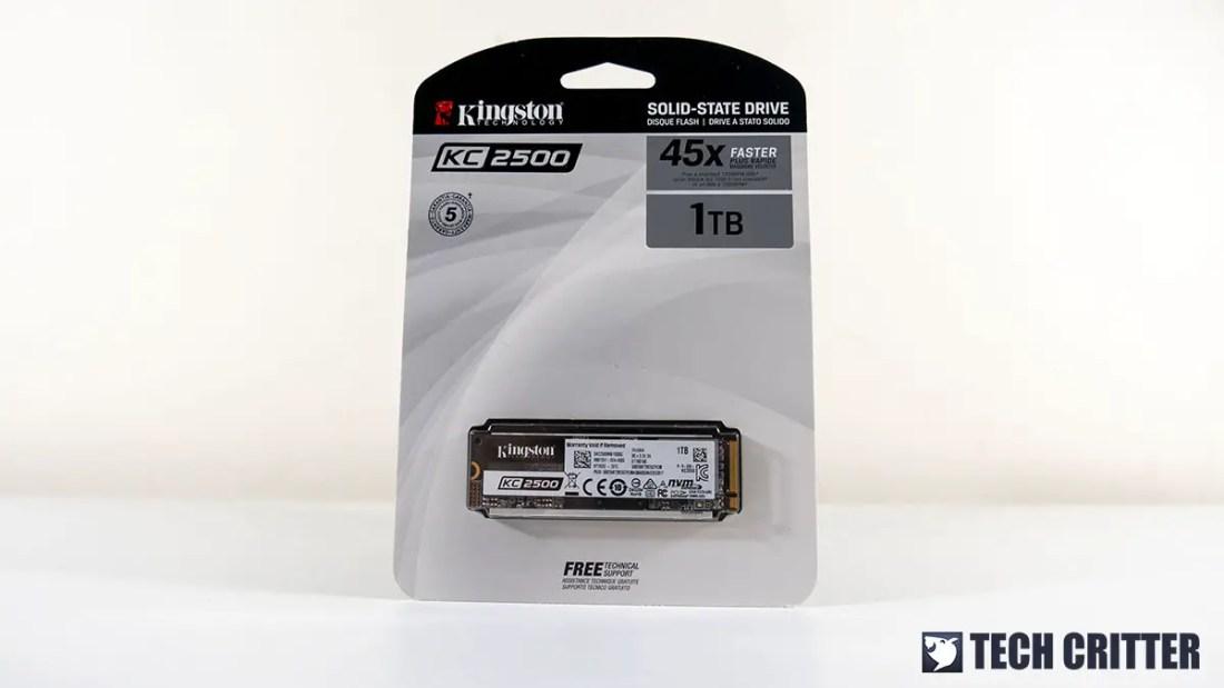 Kingston KC2500 NVMe SSD