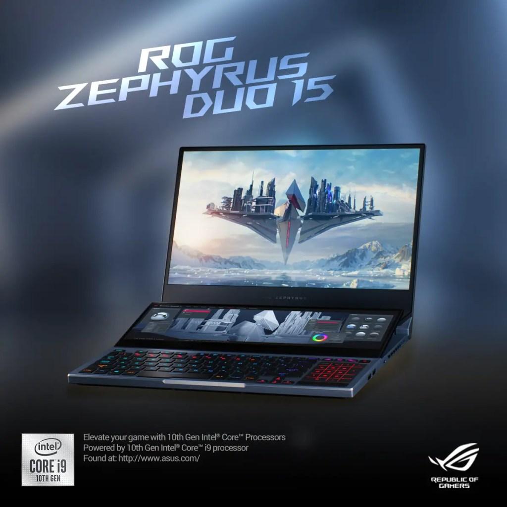 ROG Zephyrus Duo 15