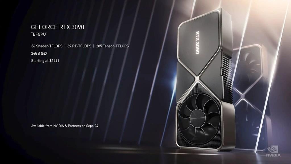 NVIDIA RTX 30 series announcement 6