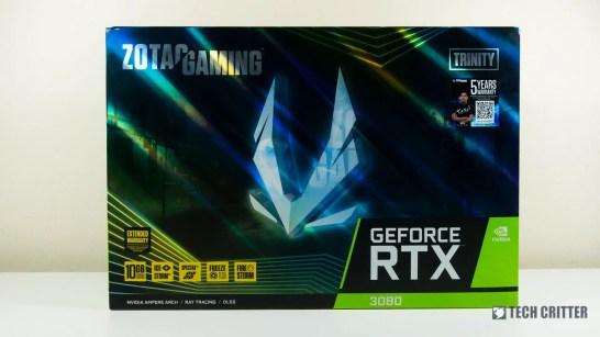 ZOTAC Gaming RTX 3080 Trinity 1