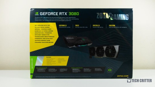 ZOTAC Gaming RTX 3080 Trinity 2