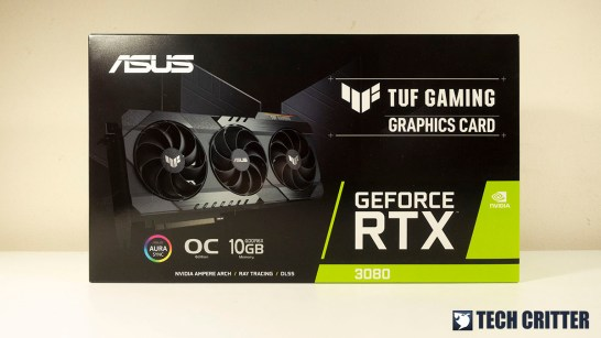 ASUS TUF Gaming GeForce RTX 3080 OC Edition