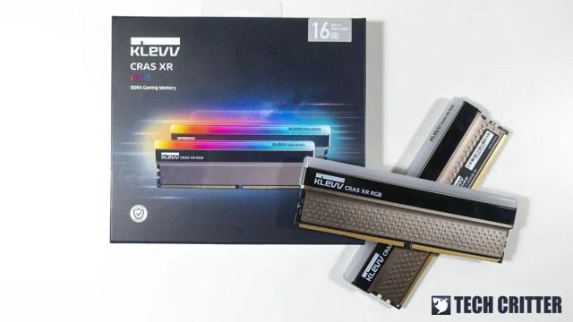 KLEVV CRAS XR RGB DDR4 4000 8