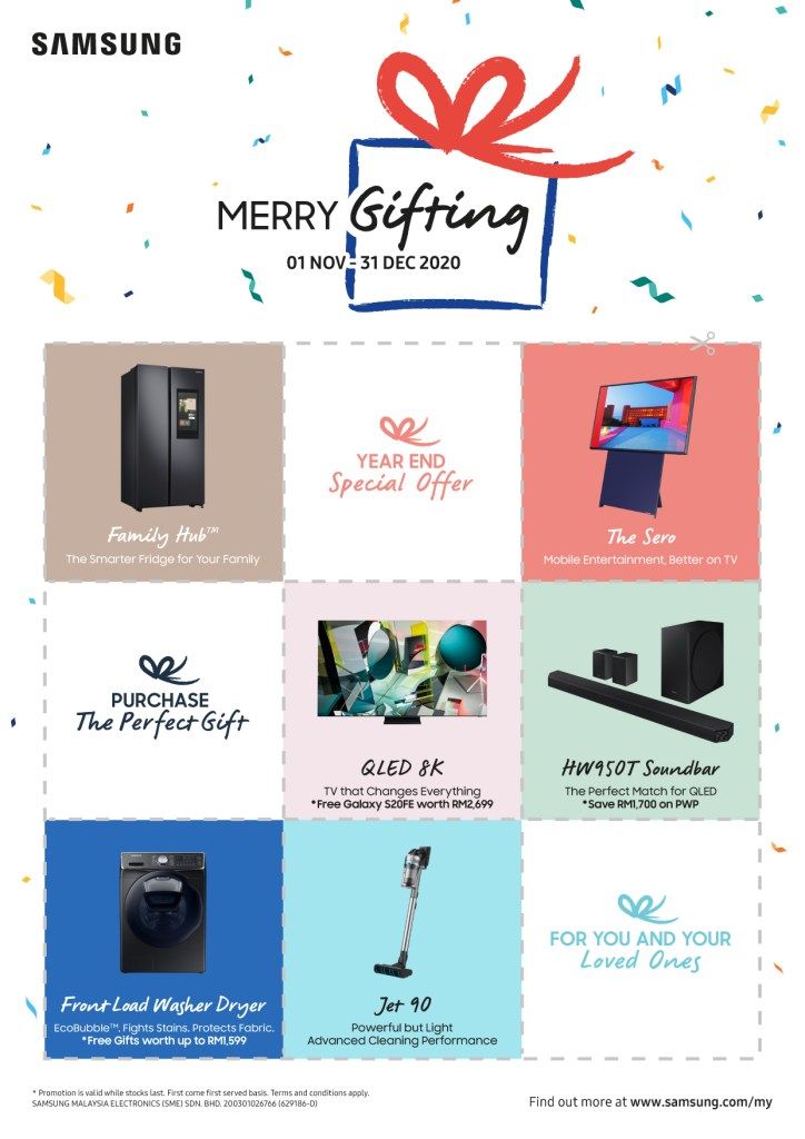 Samsung Merry Gifting