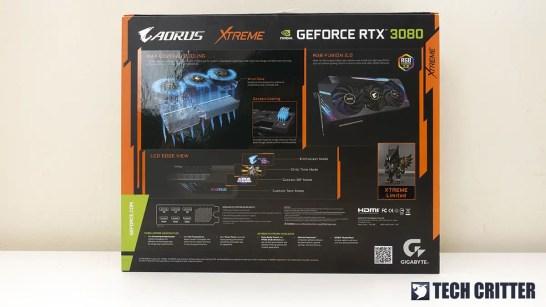 AORUS RTX 3080 XTREME 10G 2