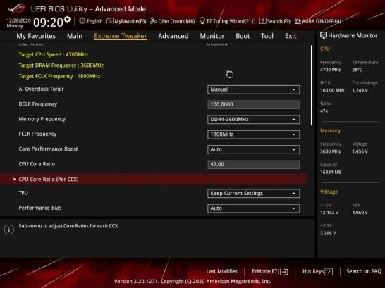 ASUS ROG CROSSHAIR VIII DARK HERO BIOS Dynamic OC Switcher 0