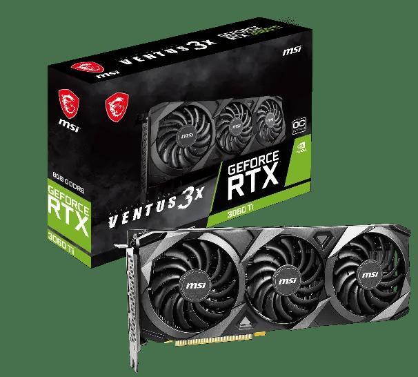 MSI GeForce RTX 3060 Ti VENTUS 3X