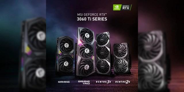 MSI RTX 3060 Ti Featured